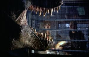 Oh no, not the T-Rex...again!