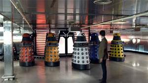 The threat of the Daleks was reduced tenfold by the multicolours!